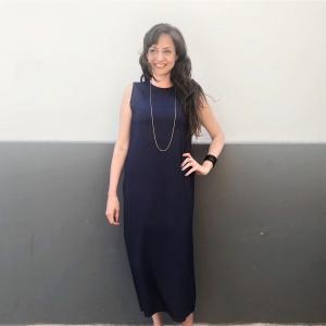 שמלה ניקי מקסי ווש
